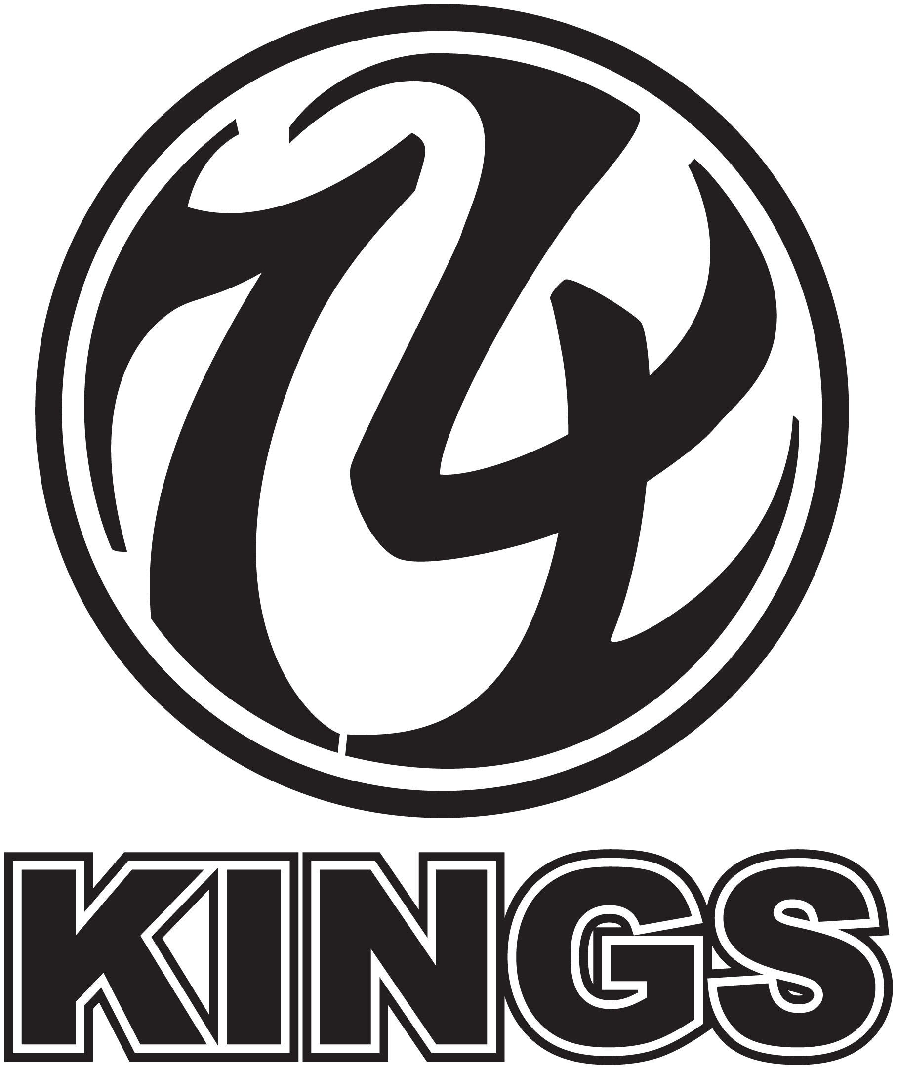 74 kings logo